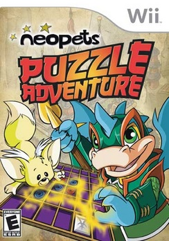Neopets Puzzle Adventure - Wii - Used