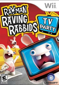 Rayman Raving Rabbids TV Party - Wii - Used