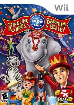 Ringling Bros And Barnum & Bailey Circus - Wii - Used
