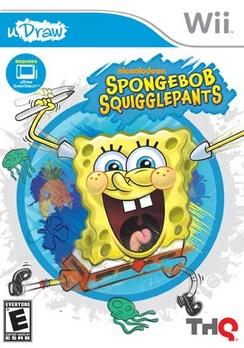 Spongebob Squigglepants (uDraw) - Wii - Used