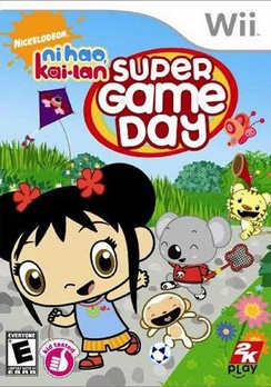 Super Game Day Ni Hao Kai-lan - Wii - Used