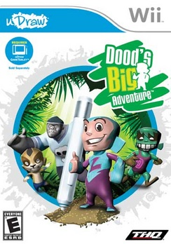uDraw - Dood's Big Adventure - Wii - Used