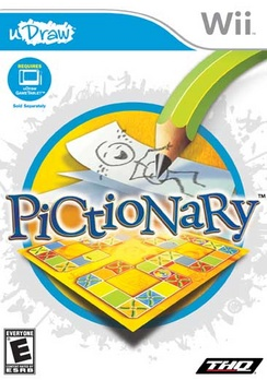 uDraw - Pictionary - Wii - Used