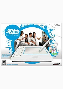 uDraw Game Tablet with uDraw Studio - Wii - Used