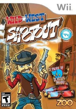 Wild West Shootout - Wii - Used