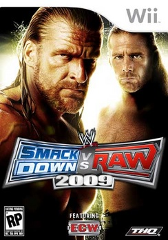 WWE Smackdown Vs Raw 09 - Wii - Used