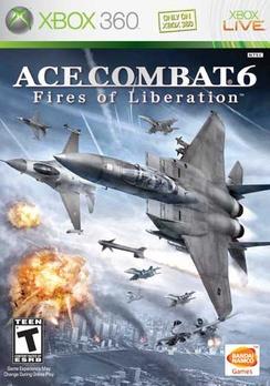 Ace Combat 6 - XBOX 360 - Used