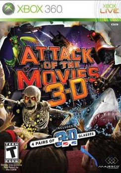 Attack Of The Movies 3D - XBOX 360 - Used