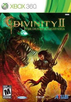 Divinity II The Dragon Knight Saga with Soundtrack - XBOX 360 - Used