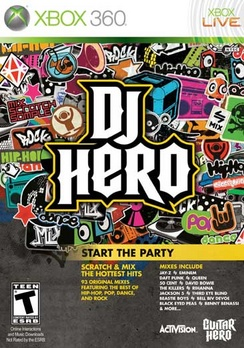 DJ Hero (sw) - XBOX 360 - Used