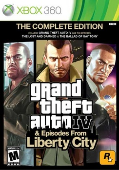 Grand Theft Auto IV Complete - XBOX 360 - Used