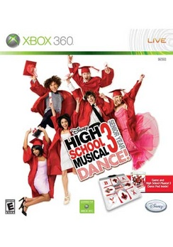 High School Musical 3 Senior Year Bundle With Mat - XBOX 360 - Used
