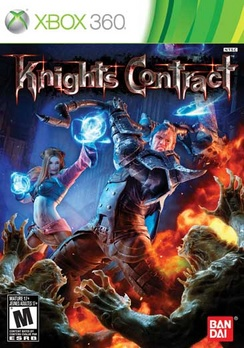 Knights Contract - XBOX 360 - Used