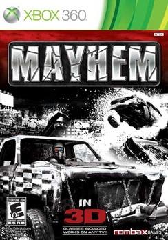 Mayhem 3D - XBOX 360 - Used