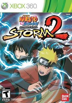 Naruto Ultimate Ninja Storm 2 - XBOX 360 - Used