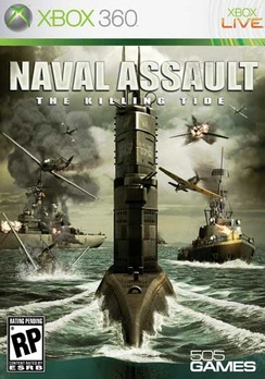 Naval Assault: The Killing Tide - XBOX 360 - Used