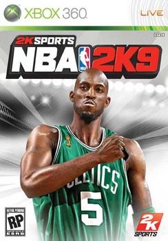 NBA 2K9 - XBOX 360 - Used