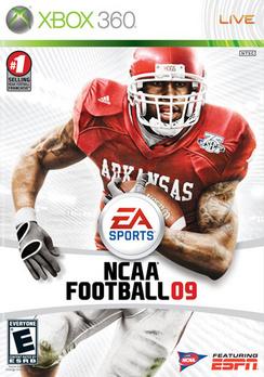 NCAA Football 09 - XBOX 360 - Used
