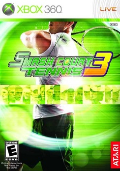 Smash Court Tennis 3 - XBOX 360 - Used