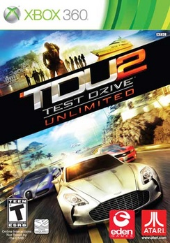 Test Drive Unlimited 2 - XBOX 360 - Used