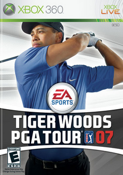 Tiger Woods PGA Tour 07 - XBOX 360 - Used