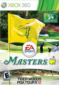 Tiger Woods PGA Tour 12 The Masters - XBOX 360 - Used