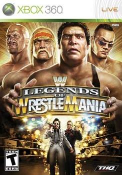 WWE Legends of Wrestlemania - XBOX 360 - Used