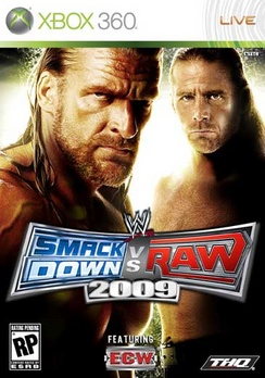 WWE Smackdown Vs Raw 09 - XBOX 360 - Used