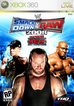 WWE Smackdown Vs Raw 2008 - XBOX 360 - Used