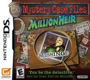 Mystery Case Files Millionheir - DS - Used
