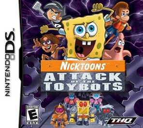 Nicktoons Attack Of The Toybots - DS - Used