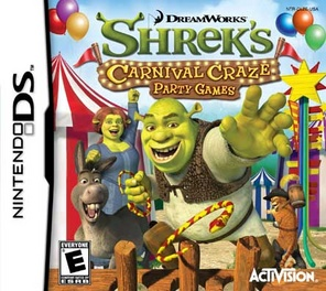 Shreks Carnival Craze - DS - Used