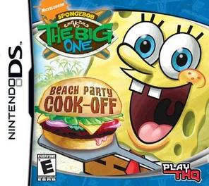 Spongebob Squarepants Big One Beach Part Cook Off - DS - Used