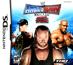 WWE Smackdown Vs Raw 2008 - DS - Used