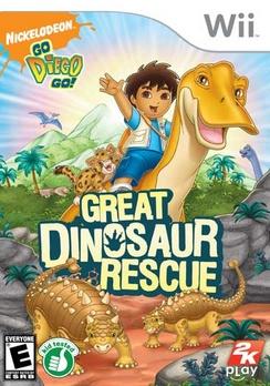 Go Diego Go Great Dinosaur Rescue - Wii - Used