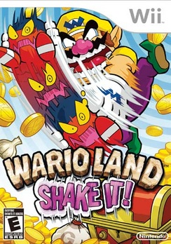Wario Land Shake It - Wii - Used