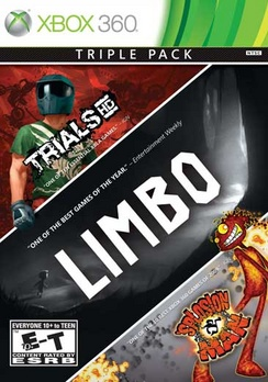Limbo/Trials/Splosion Man (3-pack) - XBOX 360 - Used