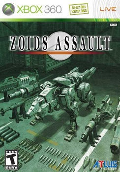 Zoids Assault - XBOX 360 - Used