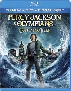 Percy Jackson & the Olympians: The Lightning Thief - Blu-ray - Used