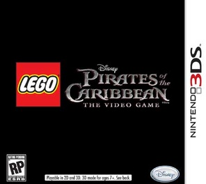 Lego Pirates Of The Caribbean The Video Game - 3DS - Used