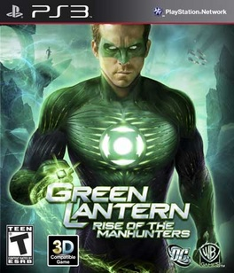 Green Lantern: Rise Of The Manhunters - PS3 - Used