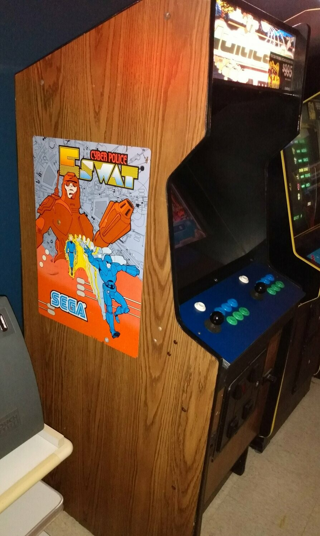 Cyber Police ESWAT Multicade Arcade machine