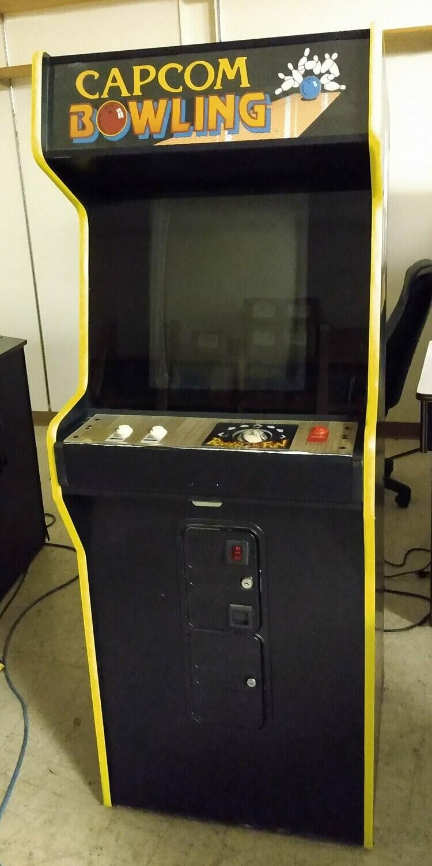 Capcom Bowling Arcade Machine