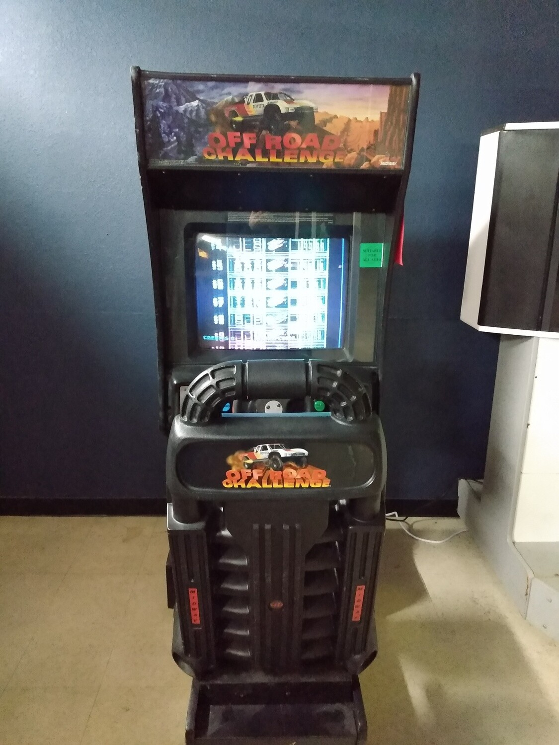 Off Road Challenge Arcade Machine