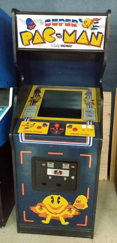 Super Pac-Man Arcade Machine