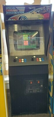 SCI Special Criminal Investigation Multicade Arcade machine