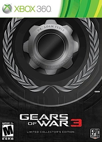 Gears of War 3 Limited Edition - XBOX 360 - New