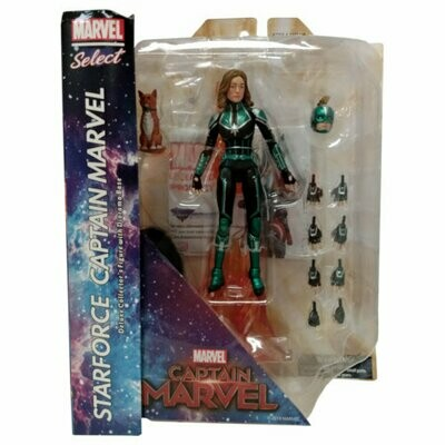 Marvel Select Captain Marvel (Starforce) Figure