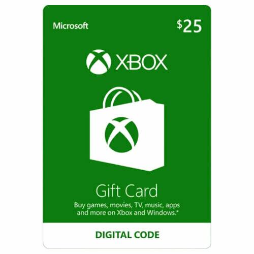 Test Item - XBOX Digital Code Card