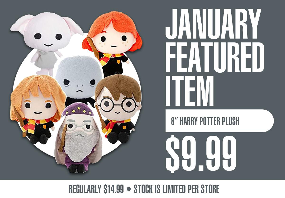 Harry Potter 8 inch Plush Dolls - Plush Toys - New
